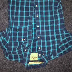 Hollister button up